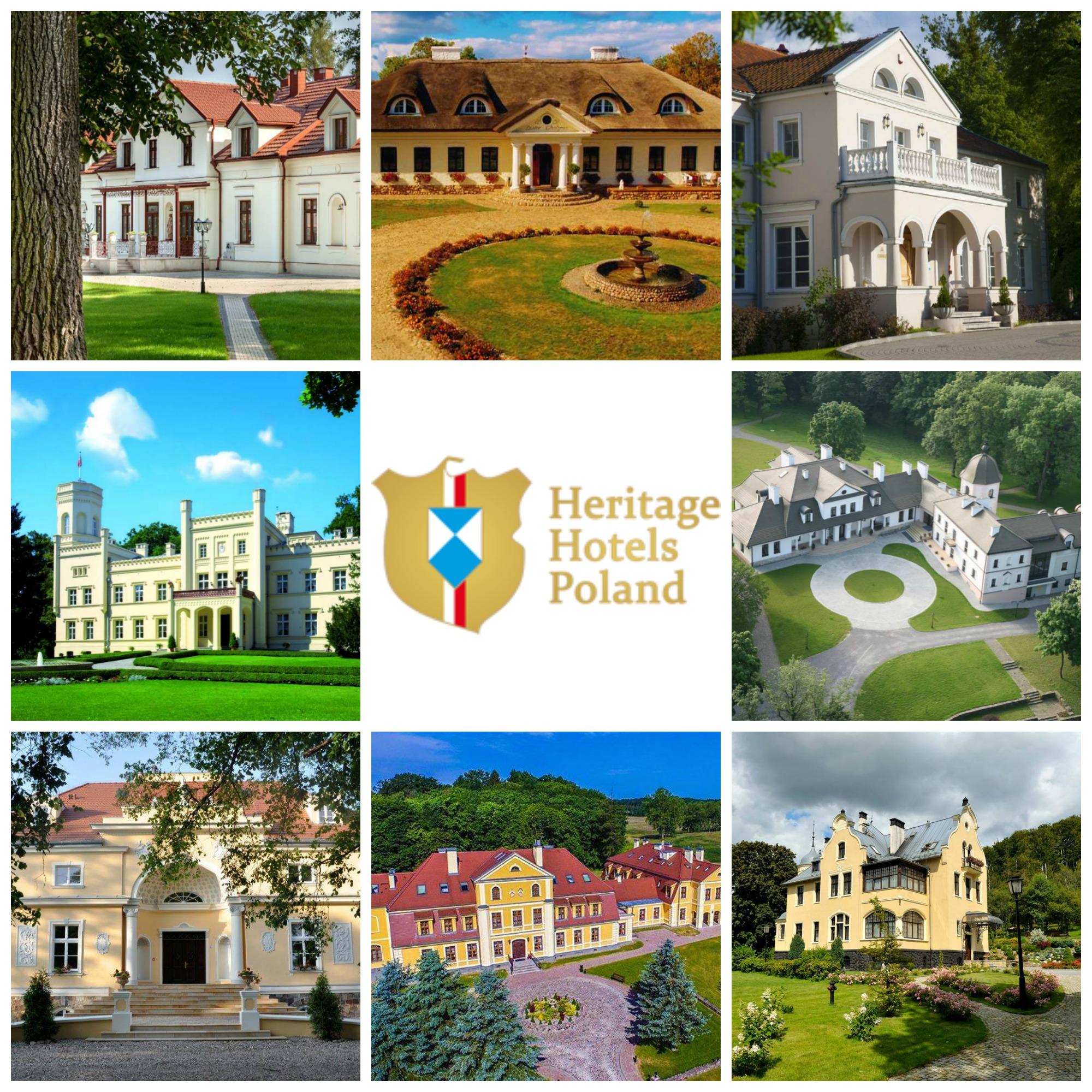 National Geographic Poland wyróżnił 8 obiektów należących do Heritage Hotels Poland!